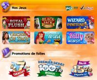 page jeux gratorama