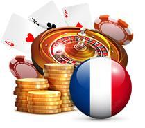 drapeau français jetons roulette cartes